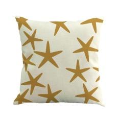 jiaxiang Square Sofa Pillow Covers, Pawaca Linen Throw Pillowcase Cover 18 X 18 Home Sofa Car Decorative Cushion Covers - intl