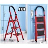 Price Comparisons For Jiji 3 Steps Foldable Laddle【 Compact And Light Ladder 】 Foldable Large Board Ladder 3 4 5 Step Ladder Step Model 1 Ladder Steps