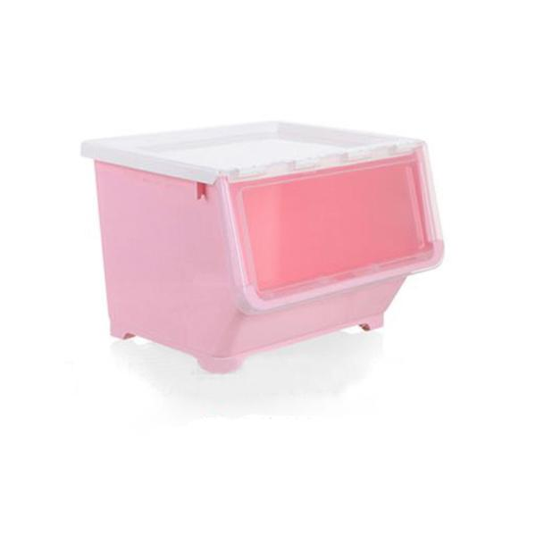 JIJI 36 Litres TAKA Stacking Storage Box / STACKABLE STORAGE BOX / DRAWER / CONTAINER / ORGANIZER / POLYPROPLYENE (Plastic Storage)