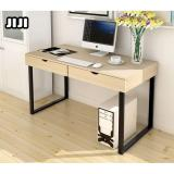 Jiji Computer Table Series Escritor Desktop Table With Cabinets 100 X 48 Cm With Free Assembly Computer Table Deal