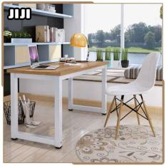 JIJI (Free Installation)(Premium Castanho Desktop Table) 100 x 60 cm  Study Table - Office Table/ Desktop Table/ Computer Table/ Laptop Table/Desk/Study Desk /Home Table