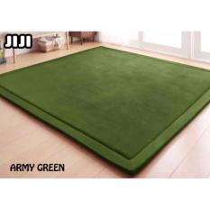 JIJI 80 x 200 cm Floor Carpets: Japan Coral Velvet Floor Carpet 80 x 200 cm (Carpet)