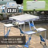 Buy Jiji Portable Folding Aluminium 4 In 1 Table Set 85 5Cm Online Singapore