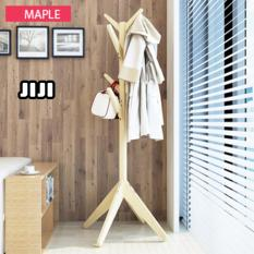 JIJI Wooden Pasture Quality Clothes Rack LRCR - 01 (Free Installation) - Closet Organiser / Coat Racks / Furniture (SG)