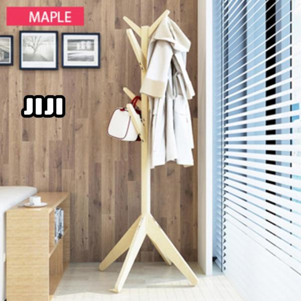 JIJI Wooden Pasture Quality Clothes Rack LRCR - 01 (Free Installation) - Closet Organiser / Coat Racks / Furniture (SG)