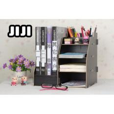 Jiji Tb 05 File Storage Rack Cupboard Makeup Table Organizers ★Acrylic ★Table Organizers ★Drawers ★Storage ★Compartment ★Cabinets Singapore