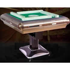 JIJI USB Charge Mahjong Table - MANUAL FOLD (FREE Installation) - Electronic Folding Singapore Style Mahjong