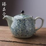 Jingdezhen Blue And White Porcelain Teapot Ceramic Home Large Number Capacity Tea Kettle Filter Hot And Cold Water Office Free Shipping