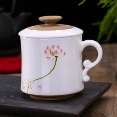 Cheapest Hand Painted With Lid Filter Office Business Office Cup Online