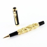 Best Buy Jinhao Golden Auspicious Dragon And Black Rollerball Pen With Golden Clip Intl