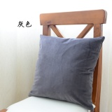 Sale Jk Mu Space Super Soft Feel More Velvet Solid Color Pillow Cover On China