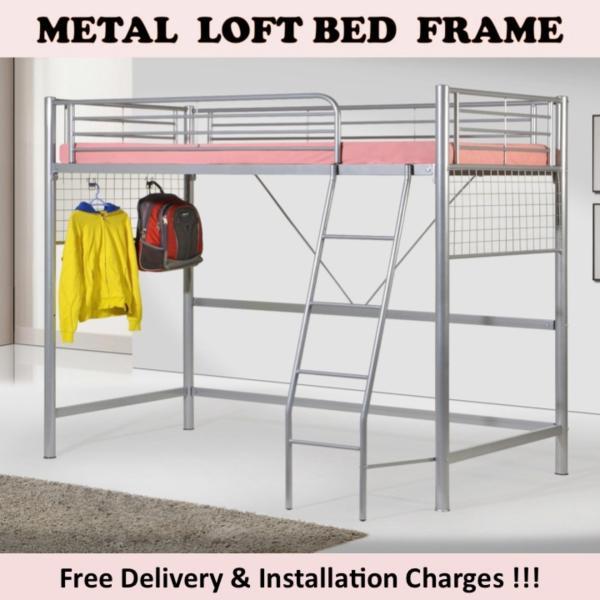 JOJO Single Loft Bed with Plywood