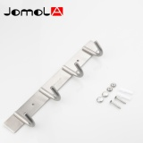 Compare Jomola 304 Stainless Steel 4 Hook Hanger Coat Hook Wall Hook Bag Clothes Hat Coat Hook Bathroom Towel Robe Hanger Heavy Duty Hook For Household Bathroom Kithchen Brushed Finish Wall Mounted Intl