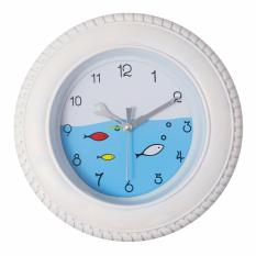 Where Can You Buy Justnile Creative Tire And Fish Mini Wall Alarm Clock 7 Inch White