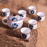Review Jvgood Ceramic Tea Pot And 6 Cups Set Serves Porcelain Teapot Kung Fu Tea Set For Home Decor Asian Living Jvgood