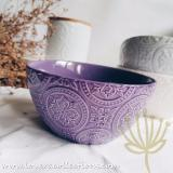 Cheap Kasey Embossed Soup Bowl