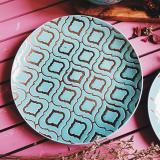 Cheapest Katie Turquoise Dinner Plate
