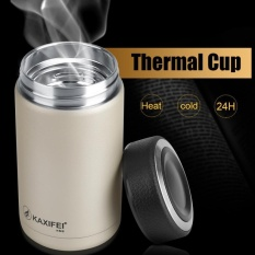 KAXIFEI Stainless Steel Vacuum Thermal Insulated Travel Flask Coffee Cup (Champagne) - intl