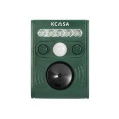 Retail Kcasa Ultrasonic Pir Sensor Solar Animal Repeller Garden Flash Light Bird Repel Green Intl