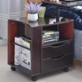 Lowest Price Kelsey Movable Bedside Cabinet Table Dual Drawers Free Installation