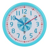 Best Deal Kid Wall Clock Baby Nursery Wall Clock In Kid S Romm Clock Bedroom Silent Non Ticking Wall Clock 12 Easy Read Time Teacher Children Learn Time Colorful Wall Clock For Baby Blue Intl