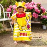 Who Sells The Cheapest Kids Hooded Beach Bath Towel Animal Poncho Pooh 100 Cotton Online