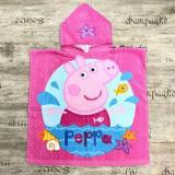 Promo Kid S Peppa Pig Hooded Towel Beach Towel