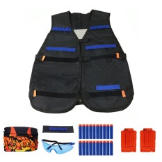 Kids Tactical Vest Kit Game Accessories For Nerf N-Strike Elite Series - Intl By Vococal Shop