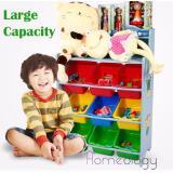 Low Price Kids Toy Rack Organizer Cabinet Storage Children Book Shelf Type C