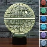 Shop For Kimo 3D Star Wars Led Night 7 Color Change Touch Switch Table Desk Lamp Light Intl