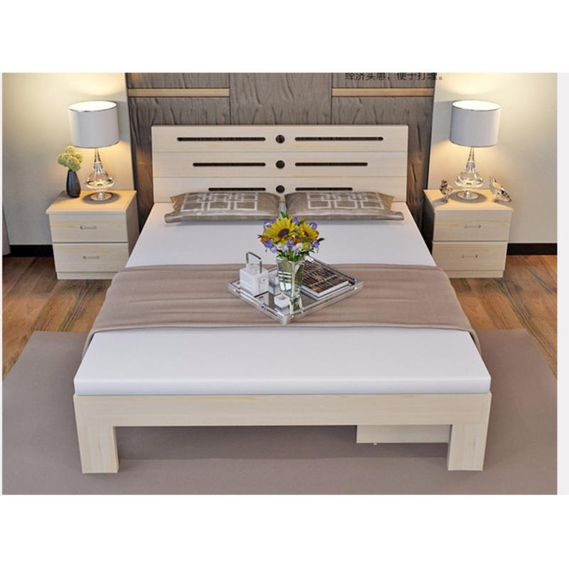 King Size Bed Fame – Nature Wood