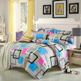 Get Cheap King Size Duvet Cover With Pillow Case Quilt Cover Bedding Set Intl