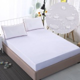 Who Sells King Size Mattress Protector 100 Waterproof Hypoallergenic Premium Fitted Cotton Terry Cover White Intl The Cheapest