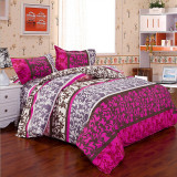Best Offer King Size Quilt Duvet Cover Pillow Case Bedding Bedclothes Set Intl