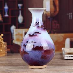 Fairview De Ceramic Vase Jun Porcelain Kiln Baked SANSUI 58 Decorations HYUNDAI Living Room Crafts Porcelain Decoration
