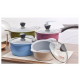 Best Buy Kitchen Art 16 18 20 24 Cm Lch Store Korean Smart Ceramic 4 Pots Set C Intl