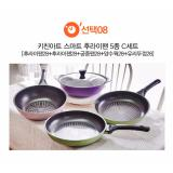 Buy Cheap Kitchen Art Korean Best Selling 5 Ply Diamond Coating Smart Stir Frying Pan And Wok Set C Intl