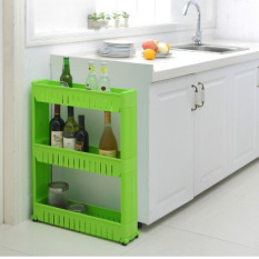 Coupon Kitchen Bathroom Refrigerator Gap Storage Management Arm Rack