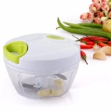 Kitchen Mini Chopper Food Pull Processor For Vegetable Fruit Garlic Herb Onion Pull Slicer Cutter Blender Tool 2 Blades Intl Lower Price