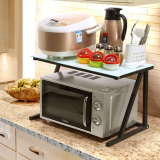 Kitchen Shelf Microwave Oven Rack Review