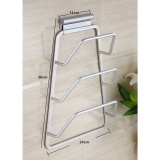 Where Can You Buy Kitchen Space Saver Cabinet Door Mount Pot Pan Lid Holder Rack Organizer Storage Intl