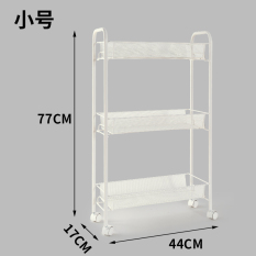 Discount Kitchen Three Layer Seasoning Rack With Wheel Small Carts Oem China