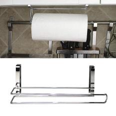Kitchen Toilet Paper Hanger Sink Roll Towel Holder Organizer Rack Space Save - intl