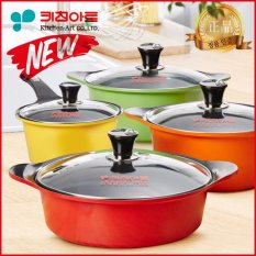 Kitchenart Korea New Premium Ceramic Coating Pot 4 Set (multicolor) By Gear Factory.