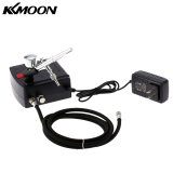Best Buy Kkmoon 100 250V Professional Gravity Feed Dual Action Airbrush Air Compressor Kit For Art Painting Tattoo Manicure Craft Cake Spray Model Air Brush Nail Tool Set Intl