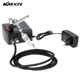 Best Kkmoon 100 250V Professional Gravity Feed Dual Action Airbrush Air Compressor Kit For Art Painting Tattoo Manicure Craft Cake Spray Model Air Brush Nail Tool Set Intl