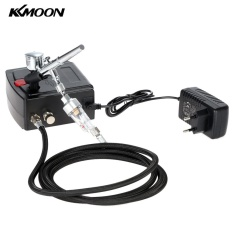 Store Kkmoon 100 250V Professional Gravity Feed Dual Action Airbrush Air Compressor Kit For Art Painting Tattoo Manicure Craft Cake Spray Model Air Brush Nail Tool Set Intl Kkmoon On China
