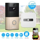 Sale Kkmoon Hd 720P Doorbell Wireless Wifi Video Door Phone With Indoor Ding Dong Doorbell Visual Intercom Smart Video Doorphone Support For Android Ios App Remote Control Intl Not Specified Original