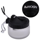 Cheap Kkmoon Professional Airbrush Cleaning Pot Glass Air Brush Holder Clean Paint Jar Bottle Manicures Tattoo Supply Intl