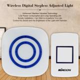 Price Kkmoon Wireless Digital Stepless Adjusted Light Switch Remote Control Brightness Adjustable Wall Night Lamp Intl Kkmoon Online